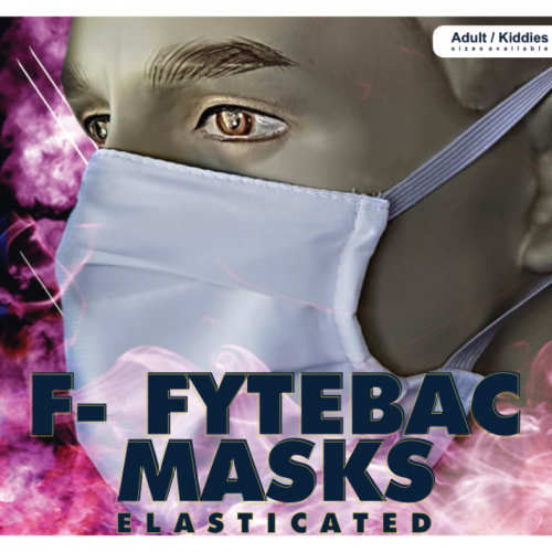 F-Fytebac Masks Elasticated